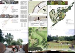 Parco della Memoria di Pescara del Tronto, lorenzo cellini, pescara del tronto, memoriale,